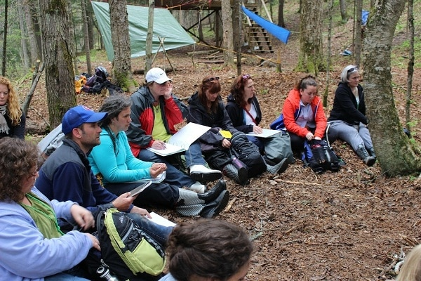 Youth Training Forest School Canada