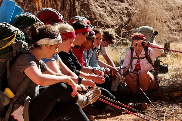 Youth Training Programs outdoor learning